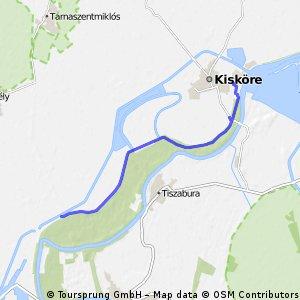 Áronnal from Pély to Kisköre