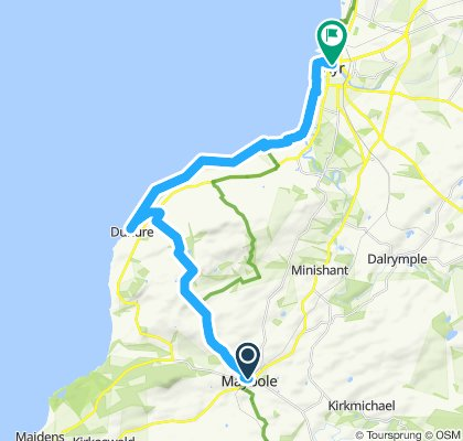 St Ninians's Way- Maybole to Ayr