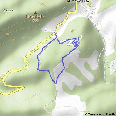 Predná Hora, pěšky, procházka