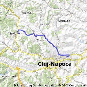 bike tour from Cluj-Napoca to (null)