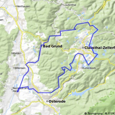 Oberharzer Teichroute