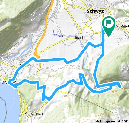 Schwyz-Muotatal-Morschach-Brunnen-Schwyz