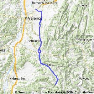 2016 Ride Day 105 - Valence Circle to Vesc