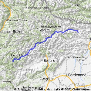 Holzkirchen-Adria-Holzkirchen 2016: ALPINE ALTERNATIVE Passo Brocon - Ovaro