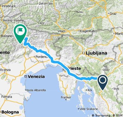 Ogulin-Cortina d'Ampezzo