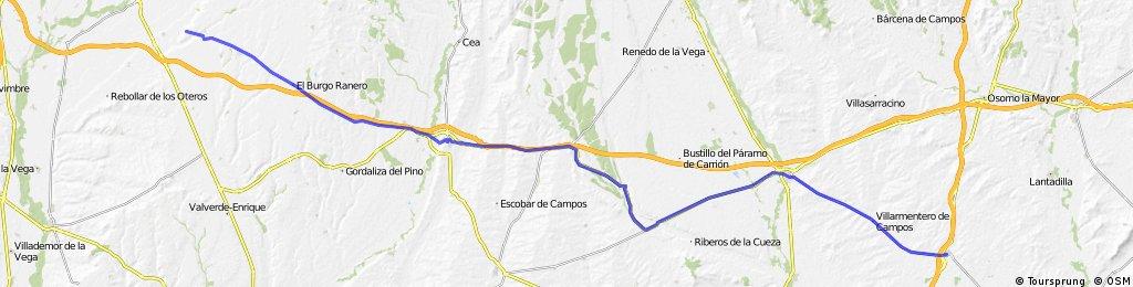Camino Francés Day 2 Frómista→Reliegos