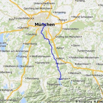 München - Tegernsee