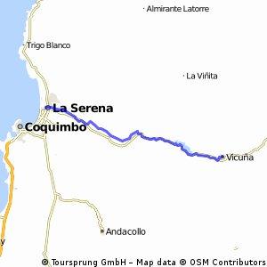 5) La Serena-Vicuña