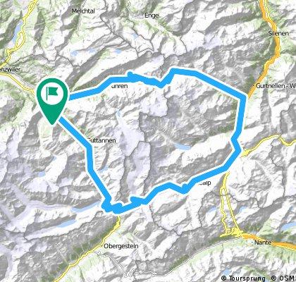 Švica 2016 - 1 Grimsel-Furka-Susten