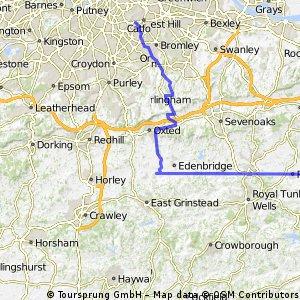 London to Haywards Heath