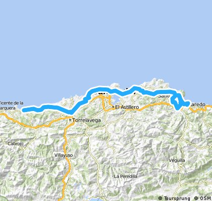 17. Etappe Laredo - Comillas ca. 109km 04.07.