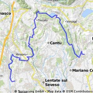 MTB - Lura - Cucciago - Albate - Montorfano - Brughiera