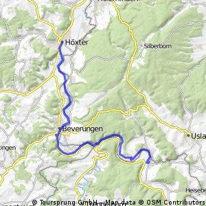 2016 05 Winterberg - Eder - Fulda - Weser - Radreise