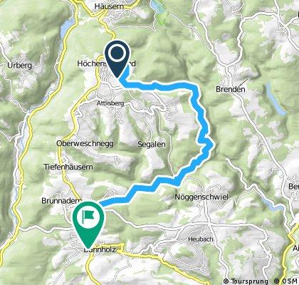 Höchenschwand-Waldhaus Wandern