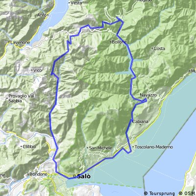 Cycling routes and bike maps in and around Sal Bikemap Your