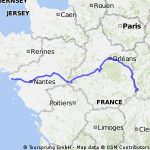 Europe 2019 Route A