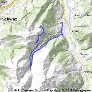 Zillertal...Spieljoch-Hochfugen-Fugen