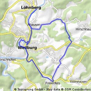 Weilburg - Kubach - Weilburg HK Radwanderserie 8.06.2016