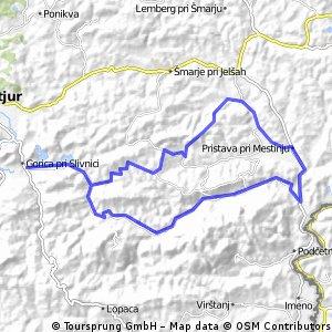 Škofija - Slivniško jezero - Škofija (krožna)