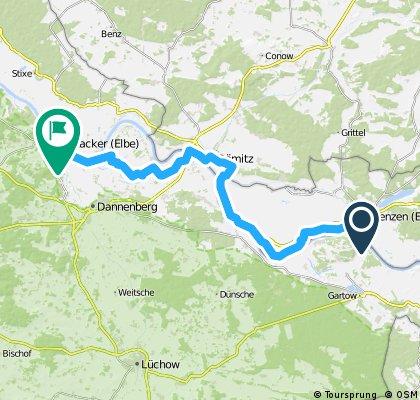 Jena - Burg a.F. 8. Etappe