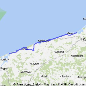 Bike along the Baltic Sea (a little bit through Poland) Part 2