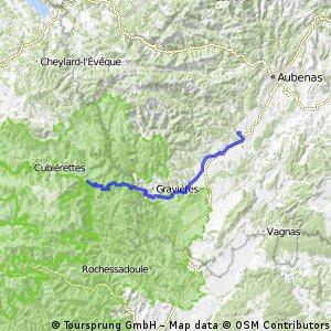 2016 Ride Day 109 - Largentière to Villefort