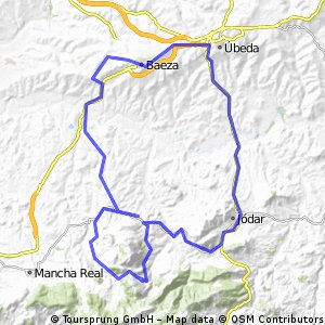 Sierra Magina y sus pueblos.