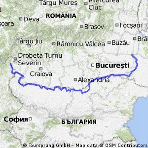 C-Route Hongarije-Roemenie 2017