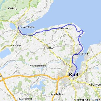 Eckernförde-Kiel 51km
