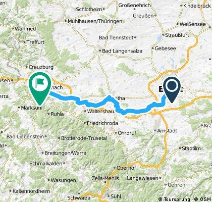 Erfurt-Eisenach 2016/1