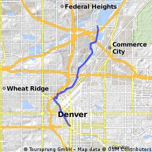 Long ride through Denver