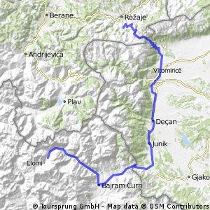 4 dne - Dacici - Valbona