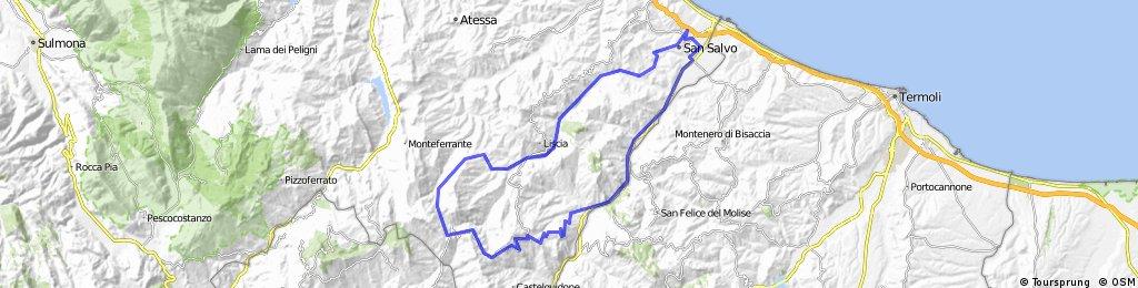 Celenza - Castiglione - Roccaspinalveti