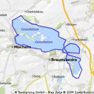 Runstedter, Großkaynaer See, Geiseltalsee