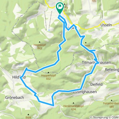 27km-Willingen-Küstelberg-Titmaringhausen