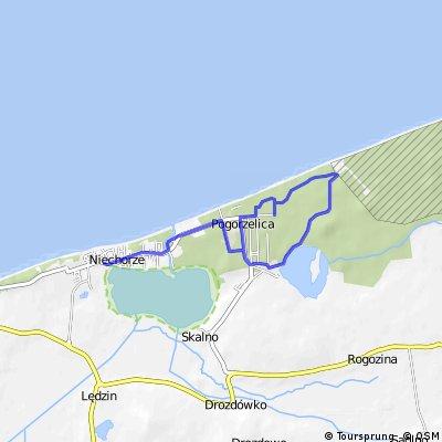 Fahrradroute 5 – Mit Neptun und Rotkäppchen von Niechorze nach Pogorzelica