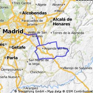 Morata - Tielmes - Carabaña - Orusco - Valdilecha