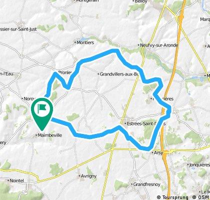 trois Etots 41.7 km
