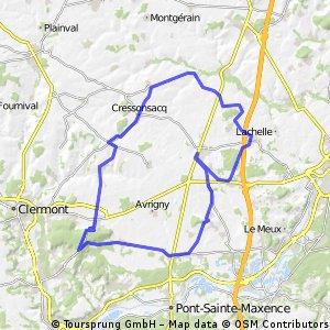 Sud 64.5 km