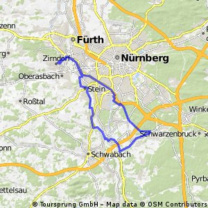 Map Of Zirndorf Germany.Street Map Of Zirndorf City Maps