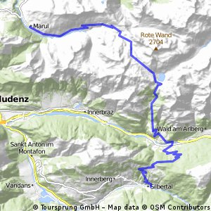 Transalp 2016 Teil 3 Marul nach Silbertag