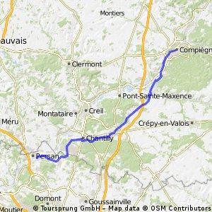 Hotels Beaumont sur Oise - Compiegne