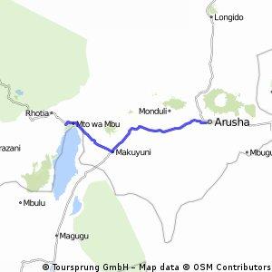 mto wa mbu-arusha