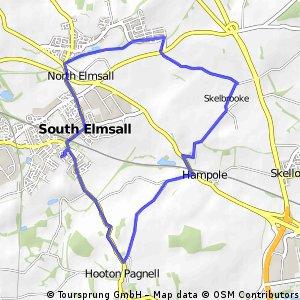 bike tour through Pontefract