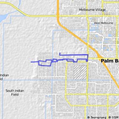ride through Palm Bay