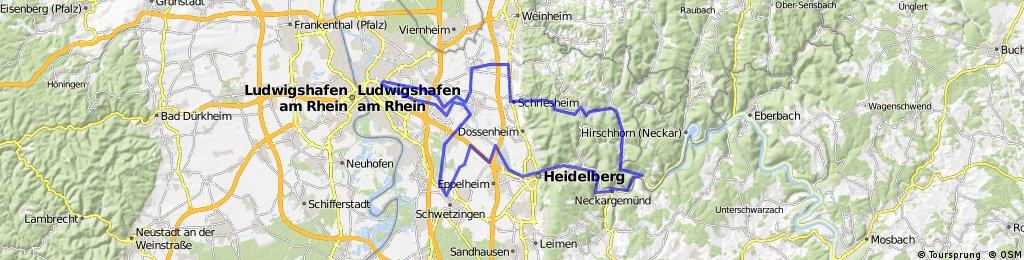 Mannheim-Odenwald-Neckartal-Mannheim