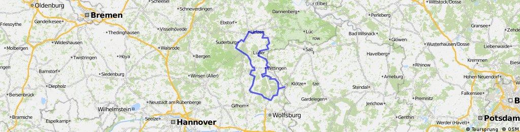 Ritter-Tour / Radwandern durch die Südheide