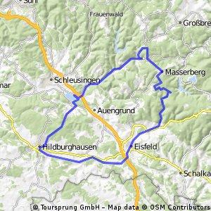 2016-07-03: Rennsteig - Werratal - Werraquelle