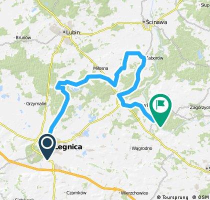 Legnica - Lubiąż