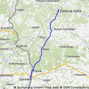 Zgorzelec - Zielona Góra
